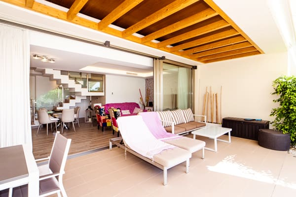 foto terraza chalet
