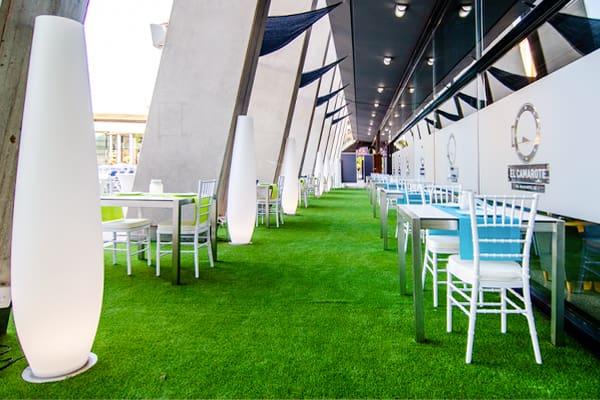 foto terraza restaurante
